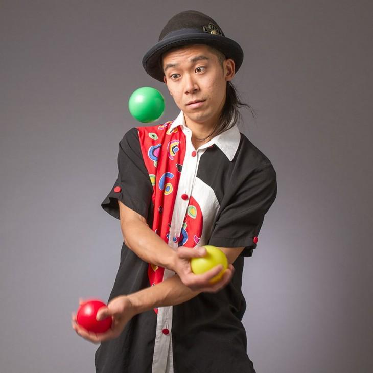 yojiジャグリング5